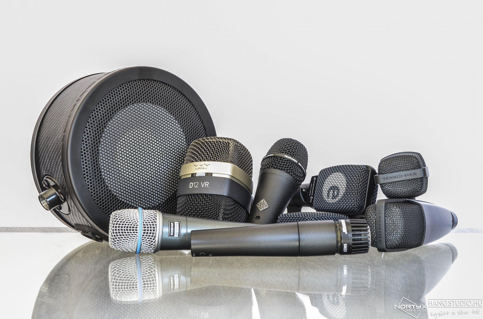 Legendás mikrofonok a Nortyx hangstúdióban!