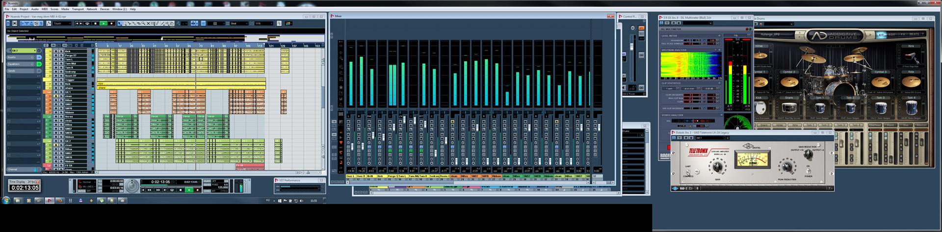 Keverés, mastering - Nortyx Hangstúdió