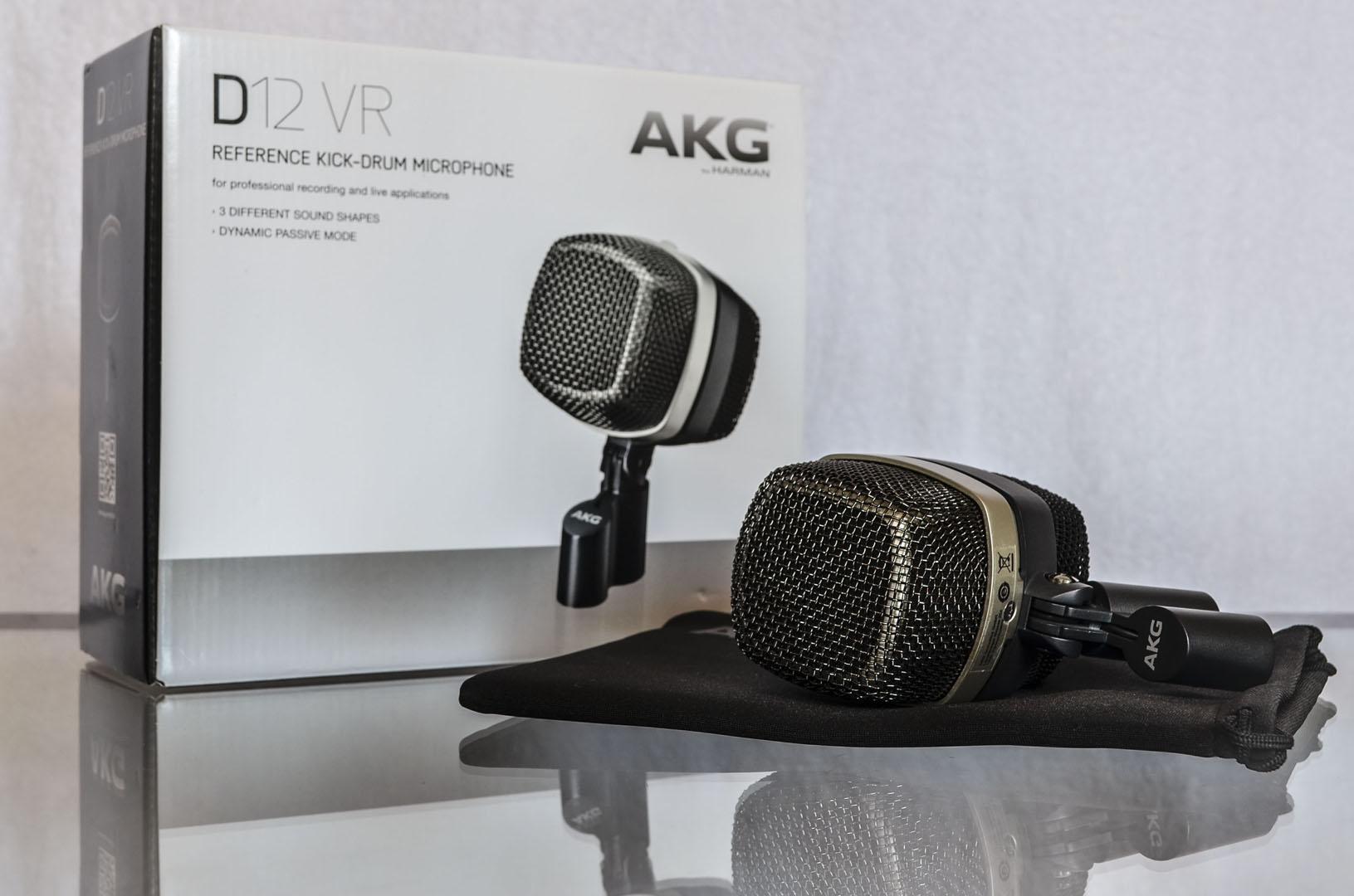 AKG D12 VR - Nortyx Hangstúdió 2017
