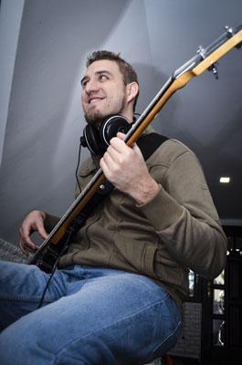 Basszusgitár felvétel - The Qbs - Nortyx Hangstúdió