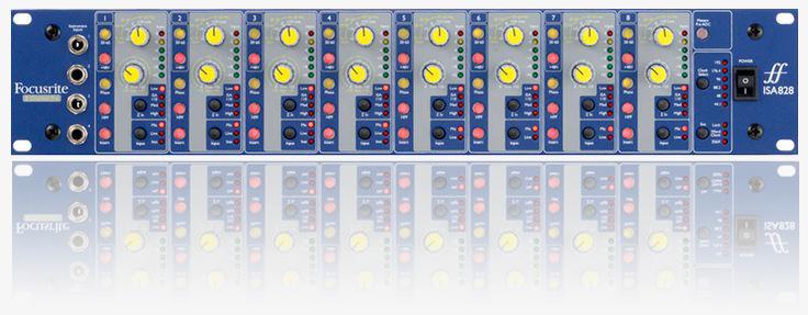 Focusrite ISA828 - Nortyx Hangstúdió