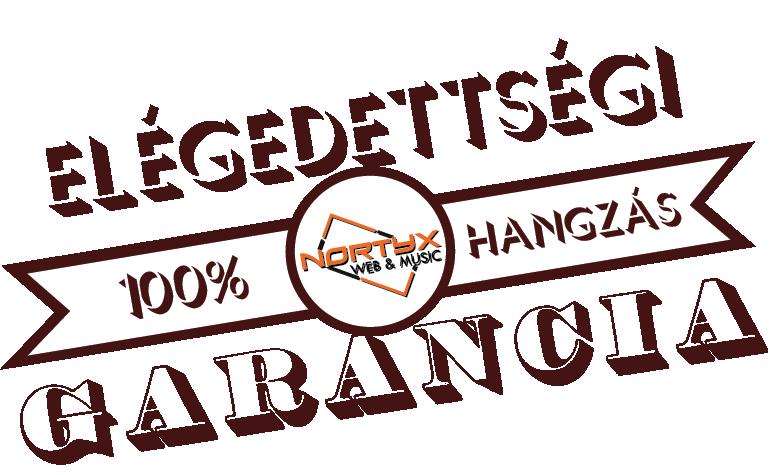 100% garancia - Nortyx Hangstúdió