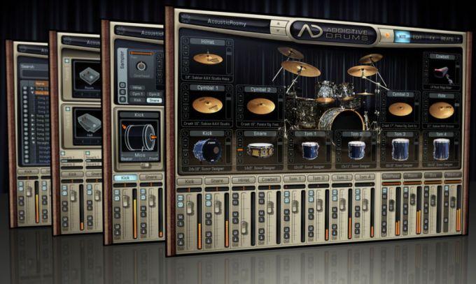 XLN Audio - Addictive Drums 1.5.7 STANDALONE, VSTi, AAX x86 x64 - виртуальн